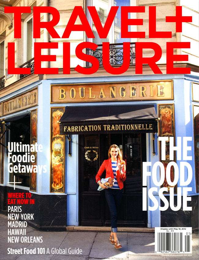 Kathryn Wagner Photography Published in Travel+Leisure Magazine, The Food Issue